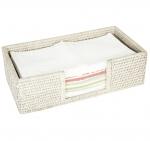 Мебель и Аксессуары для ванной из натурального дерева, Раттана и Бамбука. Rattan плетёный лоток для мини-полотенец Ротанг Раттан натуральный Светлый