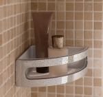 Полки для душа Сетки Полки для ванной стеклянные Полки для полотенец. Полка для душа угловая Duschkorb