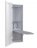 Гладильные доски. LUMI BELSI угловая гладильная доска-трансформер с зеркальной дверью