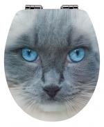 Сиденья для унитаза с крышкой. Felis сиденье для унитаза с крышкой декор кошка 3D