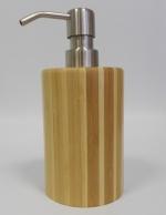 Аксессуары для ванной настольные. Bambus деревянные настольные аксессуары для ванной бамбуковые Дозатор