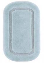Коврики для ванной комнаты. Коврик для ванной комнаты CLASSIC Nicol голубой люрекс золотой серебряный