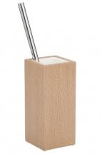Ёршики для унитаза напольные и настенные. Аксессуары для ванной деревянные тон Бук Decor Walther ёршик для унитаза напольный