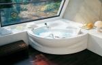 Ванны. Jacuzzi ванна с гидромассажем Alba
