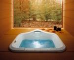 Ванны. Jacuzzi ванна с гидромассажем FONTE