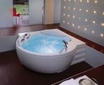 Ванны. Jacuzzi ванна угловая с гидромассажем Gemini Corner