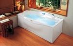 Ванны. Jacuzzi ванна с гидромассажем J.Sha Compact