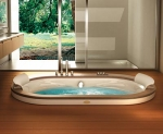 Ванны. Jacuzzi ванна с гидромассажем Opalia Wood