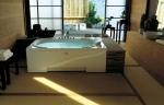 Ванны. Jacuzzi ванна с гидромассажем J.Sha Mi