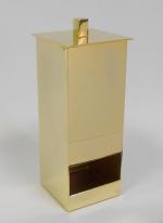 Контейнеры для ватных Дисков Шариков Палочек. Контейнер для ватных дисков золотой квадратный настольный