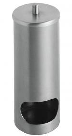 Контейнеры для ватных Дисков Шариков Палочек. Контейнер для ватных дисков стальной матовый настольный