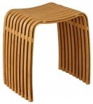 Мебель и Аксессуары для ванной из натурального дерева, Раттана и Бамбука. Fabian Nicol деревянный табурет для ванной Бамбуковый
