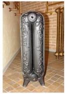 Радиаторы чугунные, стальные, стеклянные, биметаллические. Fakora чугунный радиатор Retro Flora