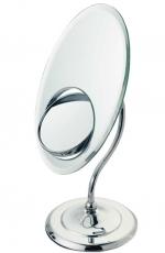 Зеркала косметические с подсветкой увеличением настенные настольные Зеркала с присосками. HELENA Nicol косметическое зеркало настольное Трёхстороннее с увеличением 1х1, 1х3 и 1х8