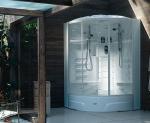 Душевые кабины Створки стеклянные Шторки для душа. Jacuzzi душевая кабина Flexa Double