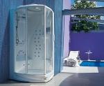 Душевые кабины Створки стеклянные Шторки для душа. Jacuzzi душевая кабина Flexa Thema 120