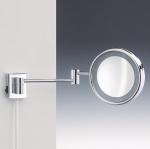 Зеркала косметические с подсветкой увеличением настенные настольные Зеркала с присосками. Косметическое зеркало с подсветкой и увеличением 1х8 Wand настенное Decor Walther