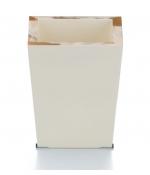 Вёдра с педалью Дровницы Вёдра. Ведро Horn & lacquer Ivory by Arca светлое