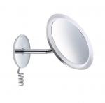 Зеркала косметические с подсветкой увеличением настенные настольные Зеркала с присосками. Keuco Bella Vista зеркало косметическое с гибкой ножкой LED подсветка с проводом