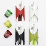 Посуда Столовые приборы Декор стола Deluxe. Салфетка/держатель для столовых приборов Tavola