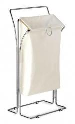 Стойки напольные с бумагодержателем, полотенцедержателем, ёршиком и высокие. Корзина для белья с полотенцедержателем