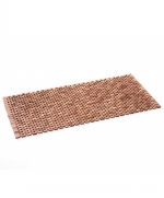 Деревянные коврики и решётки для душа и ванной комнаты. Деревянный коврик для ванной комнаты Тиковый натуральный