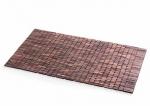 Деревянные коврики и решётки для душа и ванной комнаты. Деревянный коврик-мат для ванной Тик Розовое дерево