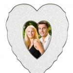 Рамки для фотографий Deluxe. Рамка-сердце для фото Чистый опал