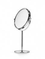 Зеркала косметические с подсветкой увеличением настенные настольные Зеркала с присосками. Косметическое зеркало настольное с увеличением 1х1 и 1х3 Lineabeta
