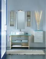 Мебель для ванной комнаты. SYNTHESIS мебель для гостевого санузла, Клён