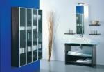 Мебель для ванной комнаты. SYNTHESIS мебель для гостевого санузла, Венге