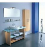 Мебель для ванной комнаты. SYNTHESIS мебель для гостевого санузла, Бук