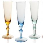 Посуда Столовые приборы Декор стола Deluxe. Набор из 6 фужеров для шампанского 180 мл Моцарт п/к