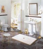 Коврики для ванной комнаты.   Коврик для ванной комнаты на заказ из Германии PIAZZA Nicol люрекс золотой серебряный. Индивидуальное производство на заказ