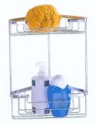 Полки для душа Сетки Полки для ванной стеклянные Полки для полотенец. Nicol Полка для душа угловая сетка