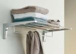 Полки для душа Сетки Полки для ванной стеклянные Полки для полотенец. Полка для полотенец Iside PomdOr