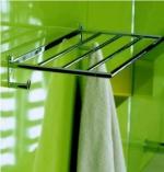 Полки для душа Сетки Полки для ванной стеклянные Полки для полотенец. Полка для полотенец Micra PomdOr с крючками