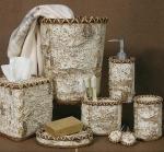 Аксессуары для ванной настольные. Birch Bark by Woolrich керамические настольные аксессуары для ванной