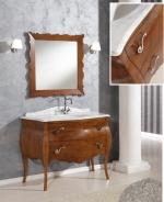 Мебель для ванной комнаты. Tiffany World Barocco Комплект мебели116x60x85h см