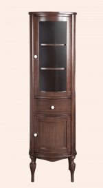 Пеналы Колонки Шкафчики Тумбы. Tiffany World Palermo Колонна правосторонняя 7704 DX noce