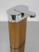 Мебель и Аксессуары для ванной из натурального дерева, Раттана и Бамбука. Toskan аксессуары для ванной настольные деревянные дозатор