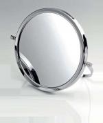 Зеркала косметические с подсветкой увеличением настенные настольные Зеркала с присосками. Косметическое зеркало настольное с увеличением 1х1 и 1х4 двухстороннее