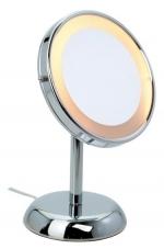 Зеркала косметические с подсветкой увеличением настенные настольные Зеркала с присосками. JESSICA Nicol косметическое зеркало с подсветкой и увеличением 1х5 настольное
