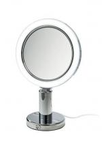 Зеркала косметические с подсветкой увеличением настенные настольные Зеркала с присосками. Зеркало косметическое с подсветкой настольное двухстороннее с увеличением 1х1 и 1х7