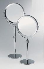 Зеркала косметические с подсветкой увеличением настенные настольные Зеркала с присосками. Косметическое зеркало настольное с увеличением двухстороннее Spiegel Telescopp Decor Walther