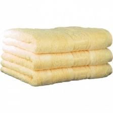 """Хлопковые полотенца.          Полотенце CAWO """"Nobless"""" 1001 Кремовый"""