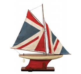 Декоративные игрушки Deluxe. Яхта Union Jack Pond