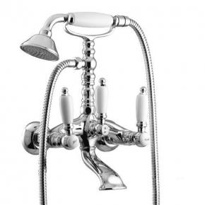 Смесители для ванны. Gattoni Vivaldi Lever 13001GR cмеситель для ванны с низким держателем
