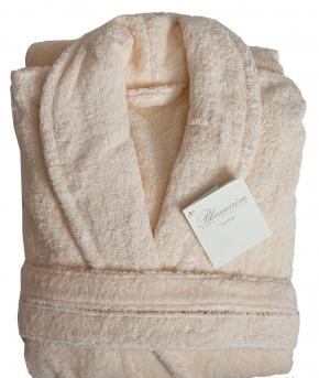 Халаты Одежда для бани и сауны Deluxe. Халат банный Etolio с кружевом Слоновая Кость (L) от Blumarine Art.7839105