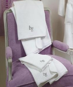 Полотенца хлопковые Deluxe. Комплект полотенец 1+1 Lady Like от Blugirl Art.78586